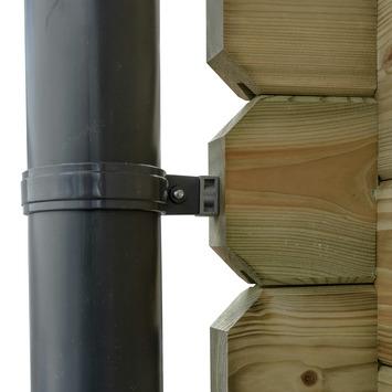 Dakgoot voor Tuinhuis Timian en Edelweiss Ø10 cm - E400 cm