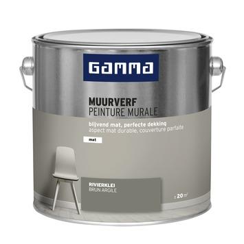 GAMMA muurverf rivierklei mat 2,5 liter