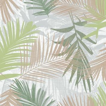 Vliesbehang Jungle glam groen/goud 104265