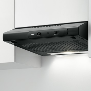 Hotte sous-encastrable Zanussi ZHT631B 60 cm noir
