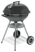 Houtskoolbarbecue kogelmodel zwart