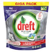 Tablettes lave-vaiselle Dreft Platinum 90+90 gratuites