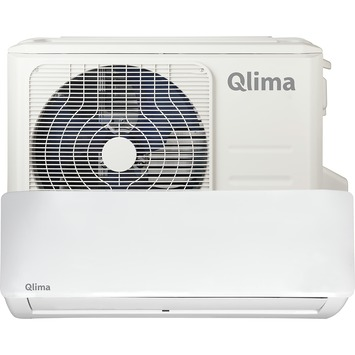 Qlima split airconditioning SC5248 indoor en outdoor unit