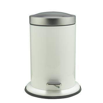 Sealskin Acero pedaalemmer wit 3 liter