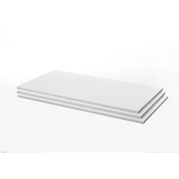 Legplanken Janneke wit 150 cm set 3 stuks