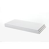 Tablettes Janneke blanc 150 cm set de 3