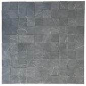 Decor Steenstrip Stoneblock Antraciet 4x4 cm