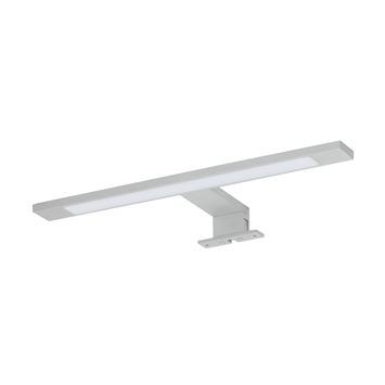 Éclairage pour miroir de salle de bains Ancis chromé mat 40cm