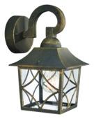 Massive wandlamp Cambridge geschikt voor E27 60W zwart