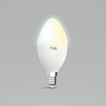 iDual white E14