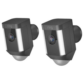 Ring Spotlight Cam batterij zwart 2 stuks