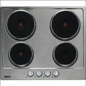 Zanussi elektrische kookplaat ZEE6942FXS 4 zones