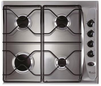 Plan de cuisson au gaz AKM232IX Whirlpool 58 cm