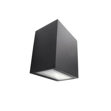 Philips wandlamp Flagstone met geïntegreerde LED 6,5W 270 lumen zwart