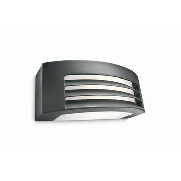 Philips wandlamp Fragrance met spaarlamp E27 20W 1320 lumen zwart