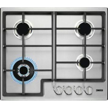 Table de cuisson au gaz Zanussi ZGH66424XS 59 cm