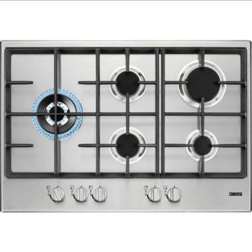 Table de cuisson au gaz Zanussi ZGH76534XS 74 cm