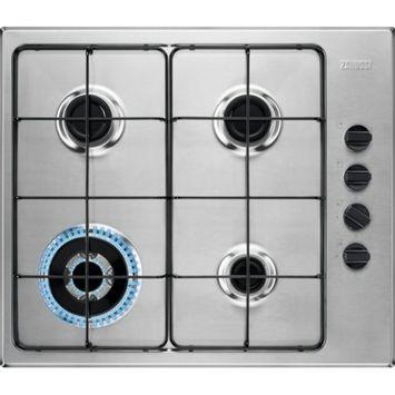Table de cuisson au gaz Zanussi ZGH62424XA 58 cm