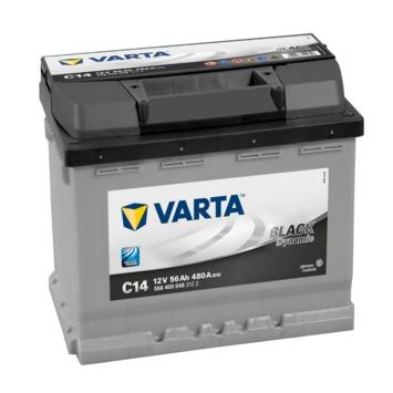 Batterie de voiture VARTA black dynamic 12V 56Ah C14