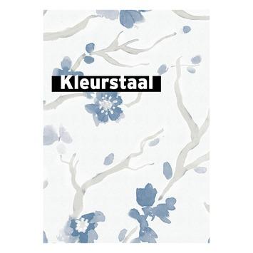 Behangstaal vliesbehang Ushi blauw 106993