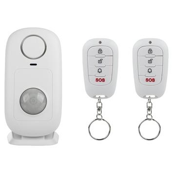 Smartwares bewegingsalarm SMA-40150 inclusief 2 afstandsbedieningen