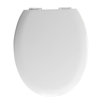 Allibert Sunshine wc-bril met softclose wit MDF