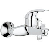 GROHE bad- en douchekraan Swift met hendel Chroom 15 cm
