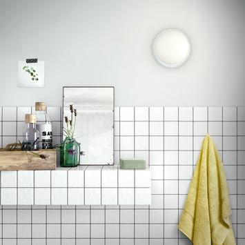Plafonnier LED Waterlilly Philips blanc