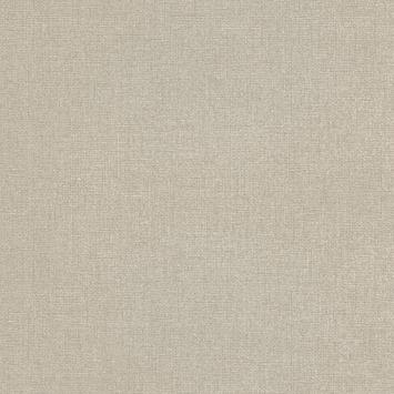 Vliesbehang Chenille taupe/goud 106749