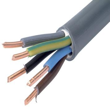 Profile XVB-Cca kabel grijs 5G2,5 mm² per meter