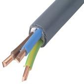 Profile XVB-Cca kabel grijs 3G2,5 mm² per meter