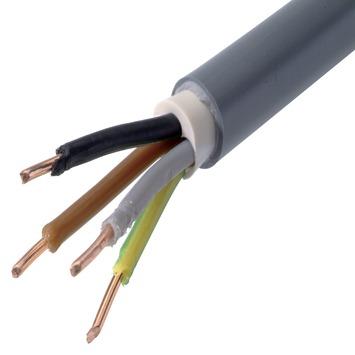 XVB-Cca kabel grijs 4G1,5 mm² per meter
