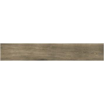 Dalle de sol Extra Wood noyer 20x120 cm