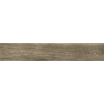 Vloertegel Extra Wood Walnut 20x120cm 0,96m2