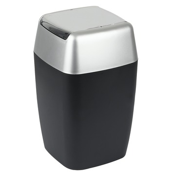 Poubelle Rétro Spirella 5 L noir
