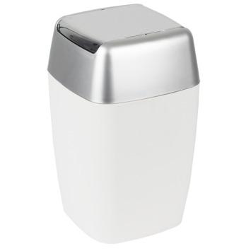 Spirella Retro afvalemmer wit 5 liter