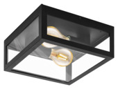Plafondlamp Alamonte 1 EGLO E27 zwart