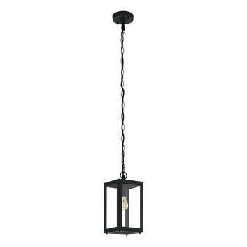 Hanglamp Alamonte 1 EGLO E27 zwart
