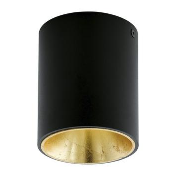 Plafondlamp Polasso EGLO LED zwart/goud