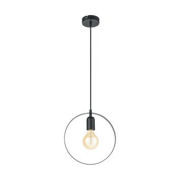 Hanglamp Bedington EGLO E27 zwart