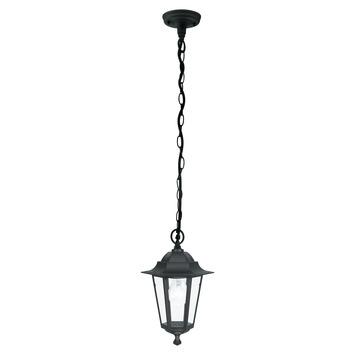 Hanglamp Laterna 4 EGLO E27 zwart