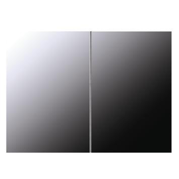 Armoire de toilette Brida Differnz 2 portes MDF 65x60 cm