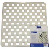 Tapis antidérapant GAMMA 50x50 cm blanc