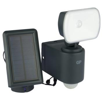 Lampe solaire LED pour l'extérieur GP safeguard  RF3.1 avec détecteur de mouvement