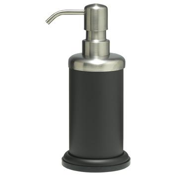 Sealskin Acero zeepdispenser zwart