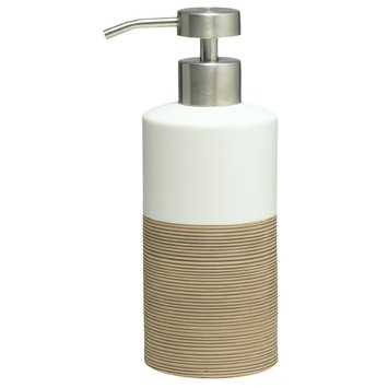 Distributeur de savon Doppio Sealskin écru