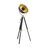 Vloerlamp Covaleda EGLO E27 zwart/goud