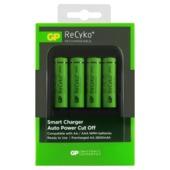 Chargeur GP PB570 + piles AA rechargeables NiMH 2700 mAh 4 pces