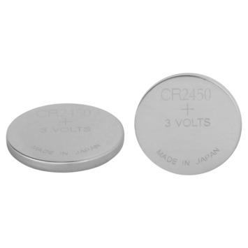 GP lithium knoopcelbatterij CR2450 3 V 2 stuks