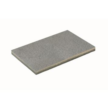 Dalle de terrasse béton Stuco gris 60x40 cm - par dalle / 0,24 m2